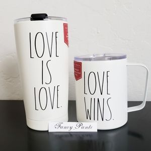 Rae Dunn Tumbler Set PRIDE Stainless Insulated Cup